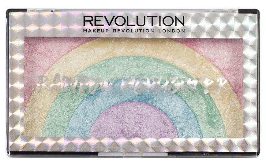 MAKEUP REVOLUTION Хайлайтер для лица / Rainbow Highlighter - Корректоры
