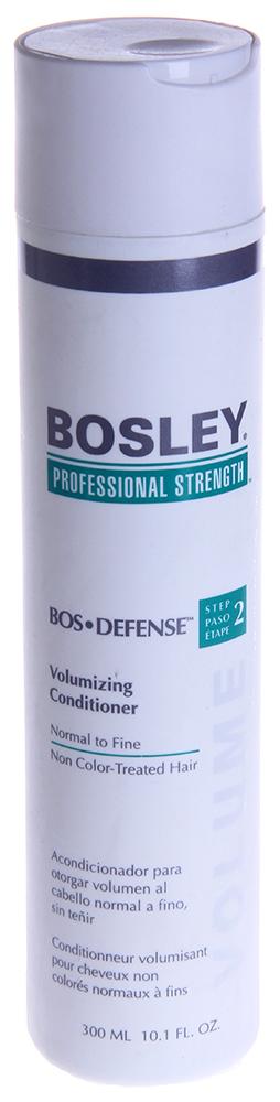 BOSLEY Кондиционер для объема нормальных/тонких неокрашенных волос / ВОS DEFENSE (step 2) 300мл