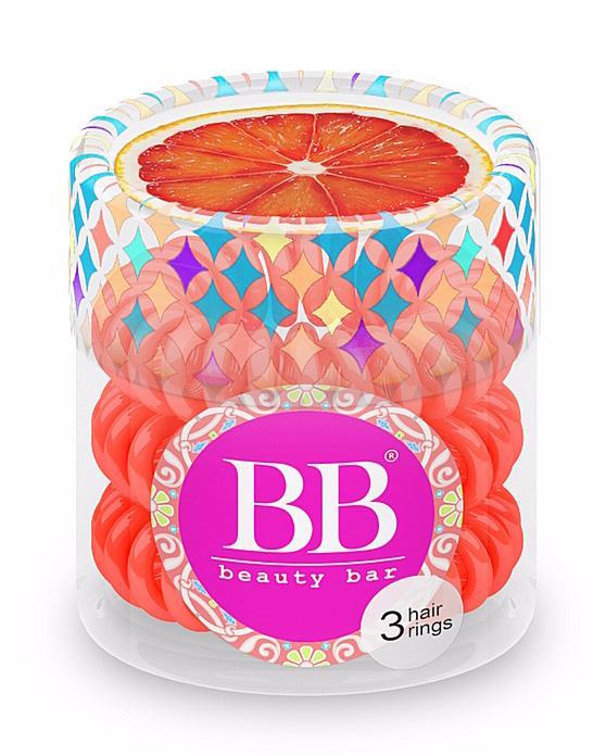 BEAUTY BAR Резинка для волос Beauty Bar / Коралловый от Галерея Косметики