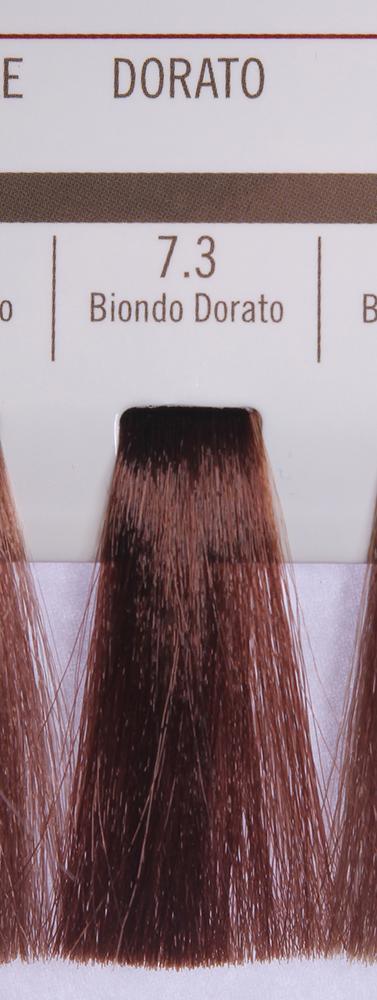 BAREX 7.3 краска для волос / PERMESSE 100млКраски<br>Оттенок: Блондин золотистый. Профессиональная крем-краска Permesse отличается низким содержанием аммиака - от 1 до 1,5%. Обеспечивает блестящий и натуральный косметический цвет, 100% покрытие седых волос, идеальное осветление, стойкость и насыщенность цвета до следующего окрашивания. Комплекс сертифицированных органических пептидов M4, входящих в состав, действует с момента нанесения, увлажняя волосы, придавая им прочность и защиту. Пептиды избирательно оседают в самых поврежденных участках волоса, восстанавливая и защищая их. Масло карите оказывает смягчающее и успокаивающее действие. Комплекс пептидов и масло карите стимулируют проникновение пигментов вглубь структуры волоса, придавая им здоровый вид, блеск и долговечность косметическому цвету. Активные ингредиенты:&amp;nbsp;Сертифицированные органические пептиды М4 - пептиды овса, бразильского ореха, сои и пшеницы, объединенные в полифункциональный комплекс, придающий прочность окрашенным волосам, увлажняющий и защищающий их. Сертифицированное органическое масло карите (масло ши) - богато жирными кислотами, экстрагируется из ореха африканского дерева карите. Оказывает смягчающий и целебный эффект на кожу и волосы, широко применяется в косметической индустрии. Масло карите защищает волосы от неблагоприятного воздействия внешней среды, интенсивно увлажняет кожу и волосы, т.к. обладает высокой степенью абсорбции, не забивает поры. Способ применения:&amp;nbsp;Крем-краска готовится в смеси с Молочком-оксигентом Permesse 10/20/30/40 объемов в соотношении 1:1 (например, 50 мл крем-краски + 50 мл молочка-оксигента). Молочко-оксигент работает в сочетании с крем-краской и гарантирует идеальное проявление краски. Тюбик крем-краски Permesse содержит 100 мл продукта, количество, достаточное для 2 полных нанесений. Всегда надевайте подходящие специальные перчатки перед подготовкой и нанесением краски. Подготавливайте смесь крем-краски и молочка-оксигента Permesse в неметалли