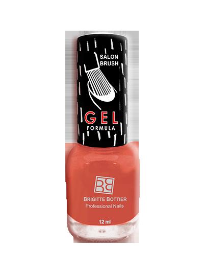 BRIGITTE BOTTIER 44 лак для ногтей гелевый Яркий оранжевый / GEL FORMULA 12мл