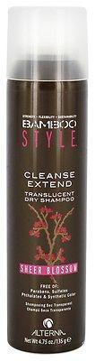 ALTERNA Шампунь-спрей сухой для свежести и объема, c ароматом весенних цветов / BAMBOO STYLE 150мл