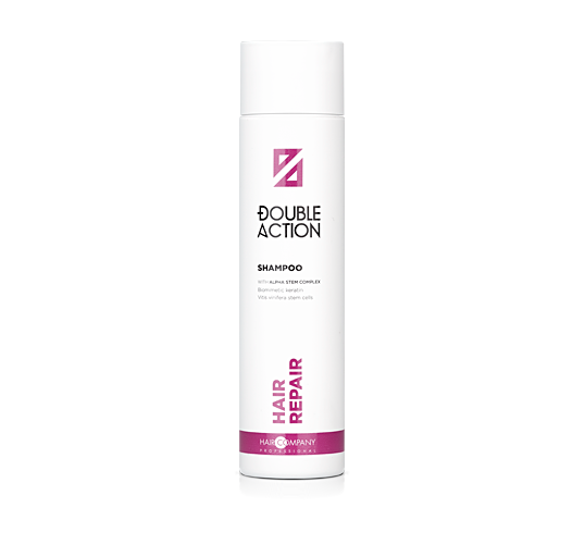 HAIR COMPANY Шампунь восстанавливающий / Double Action HAIR REPAIR SHAMPOO 250мл