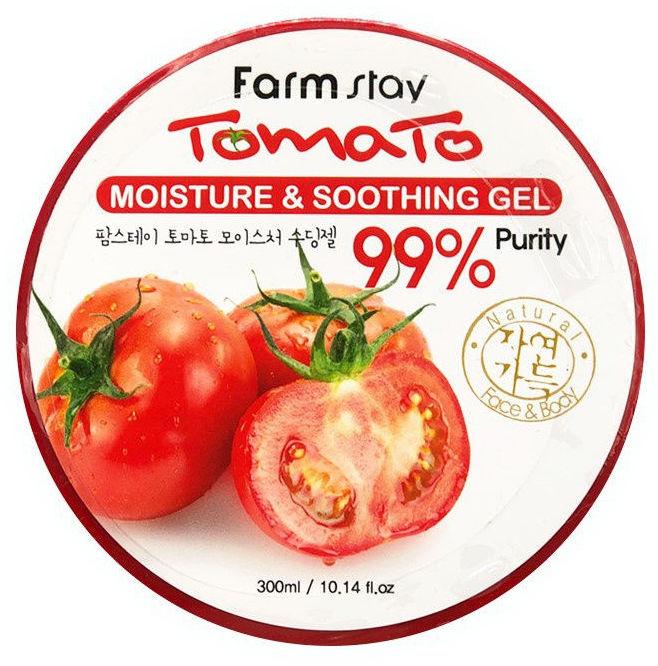 FARMSTAY Гель увлажняющий успокаивающий с экстрактом томата 300 мл