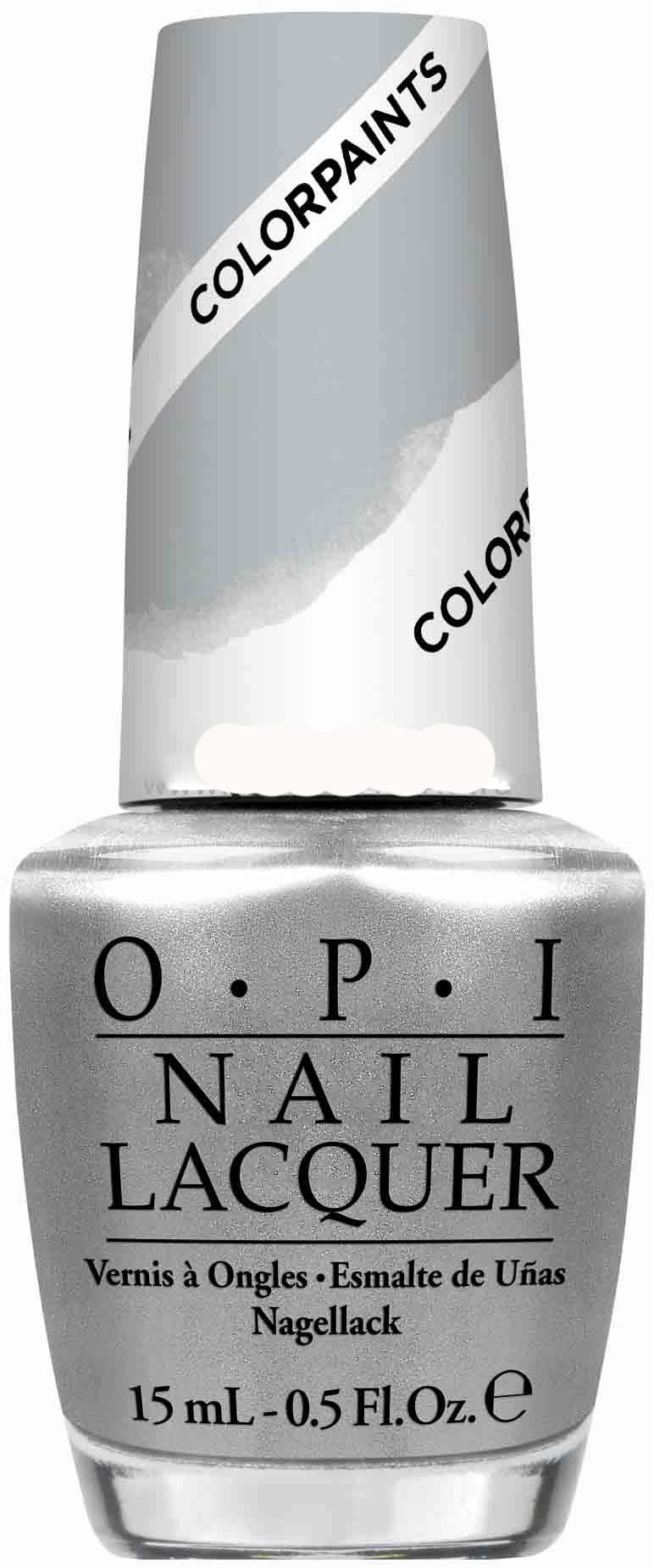 "OPI Лак для ногтей ""Silver Canvs"" / Color Paints15мл"
