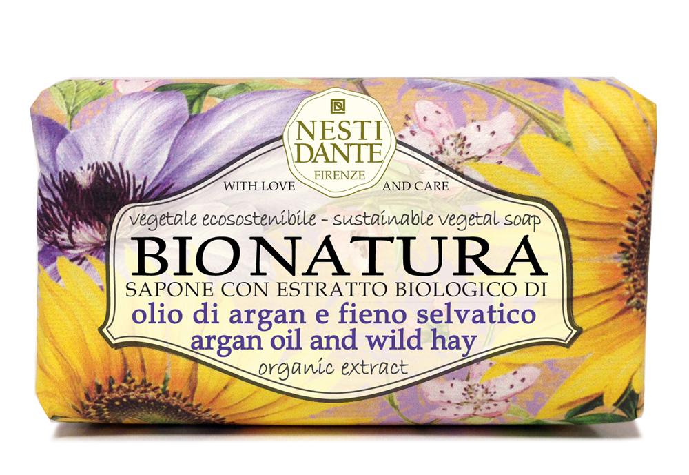Купить NESTI DANTE Мыло Масло аргании и альпийские травы / Argan Oil & Hay 250 г