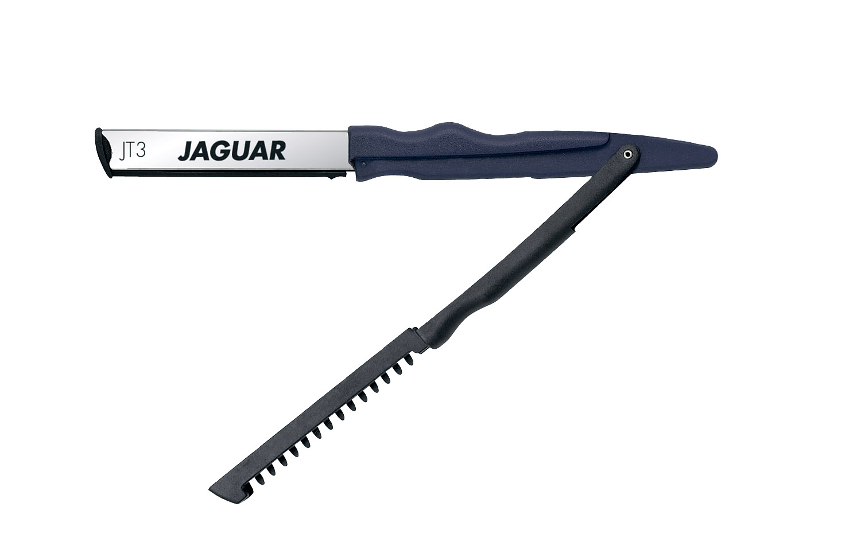 JAGUAR Бритва JT3 с лезвием 62 ммБритвы<br>Используется для филировки и подбривания волос. Материал: изготовлена из пластика, металла.<br>