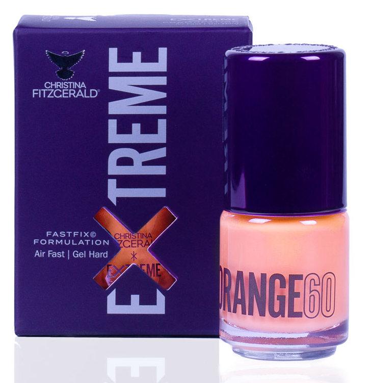 Купить CHRISTINA FITZGERALD Лак для ногтей 60 / ORANGE EXTREME 15 мл, Оранжевые