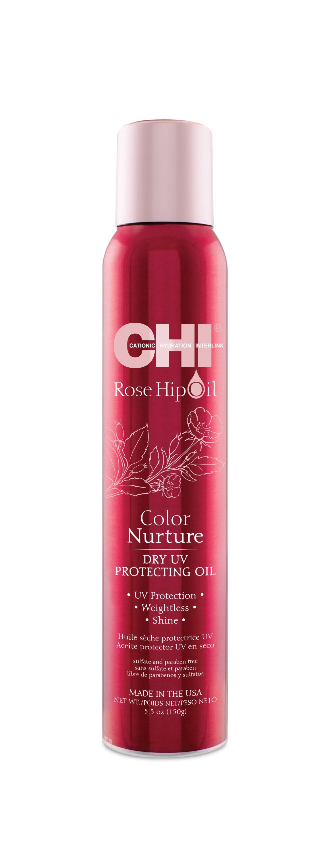 CHI Масло финишное для волос, с экстрактом шиповника и защитой от УФ 150 мл