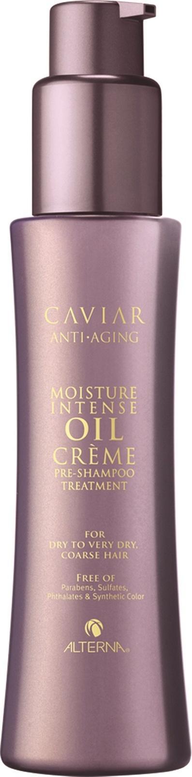 ALTERNA Сыворотка подготавливающая - шаг 1 из Системы интенсивного увлажнения / Anti-Aging Moisture Intense Oil Creme Pre-Shampoo Treatment CAVIAR 125 мл