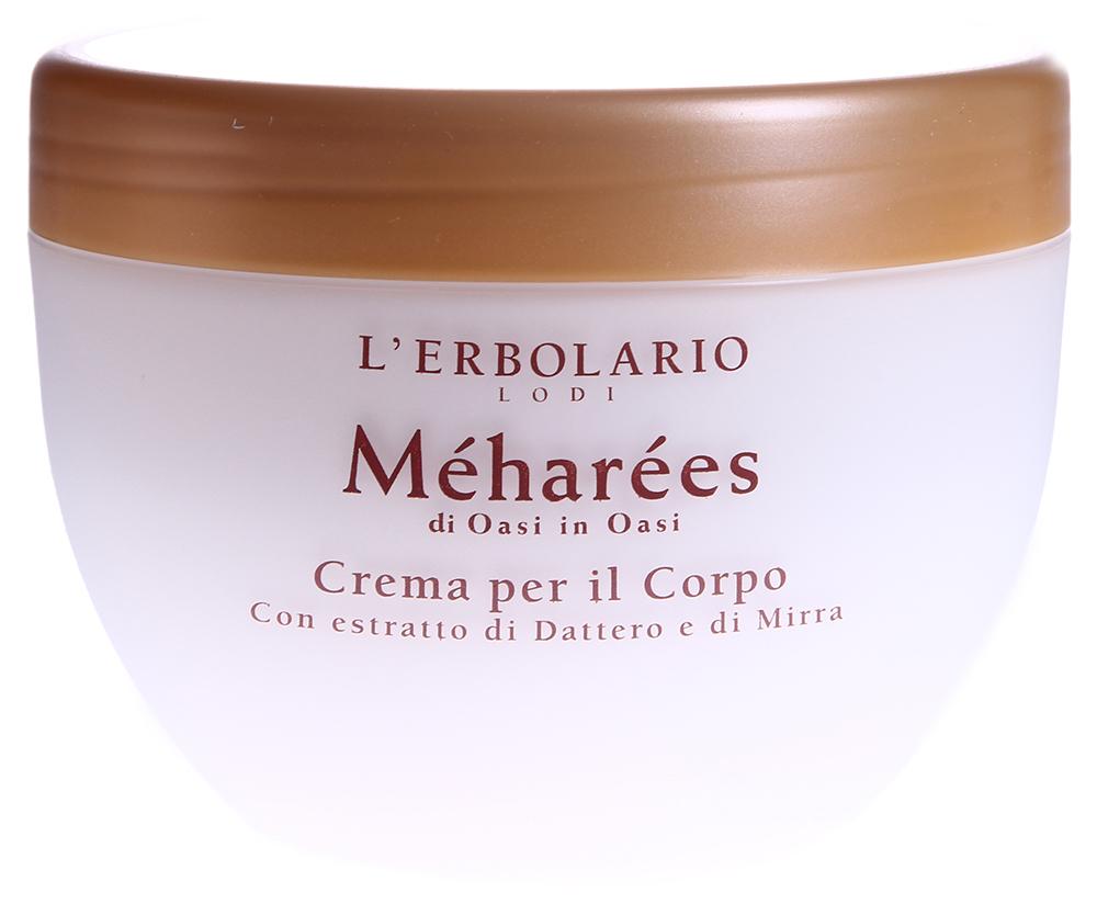LERBOLARIO Крем для тела Мегарес 300 млКремы<br>Великолепный густой и очень питательный крем для кожи тела. Благодаря его чудесным ингредиентам: финику, мирре, хлопковому маслу - кожа станет мягкой, как шелк, и приобретет аромат, который разлит в воздухе предзакатной пустыни&amp;hellip;  Способ применения: Обильно нанести крем на всё тело и, массируя лёгкими круговыми движениями, дать ему полностью впитаться.<br>