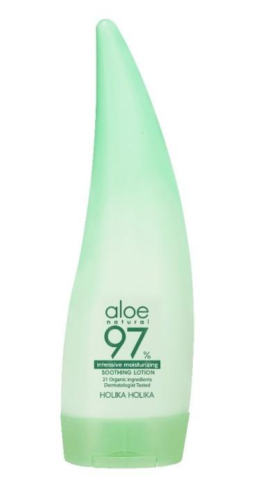 Купить HOLIKA HOLIKA Лосьон для лица и тела экстрактом алоэ / Aloe 97% Soothing Lotion Emulsion 240 мл