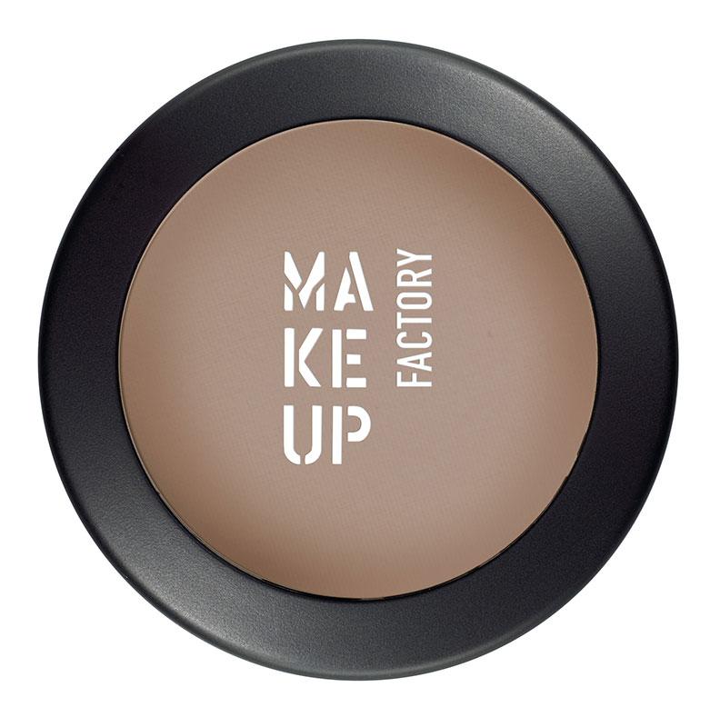 Купить MAKE UP FACTORY Тени одинарные матовые для глаз, 08 коричневая кожа / Mat Eye Shadow 3 г