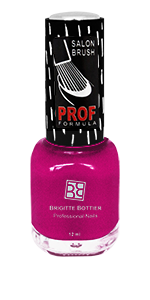 BRIGITTE BOTTIER 829 лак для ногтей, темно-малиновый / PROF FORMULA 12 мл