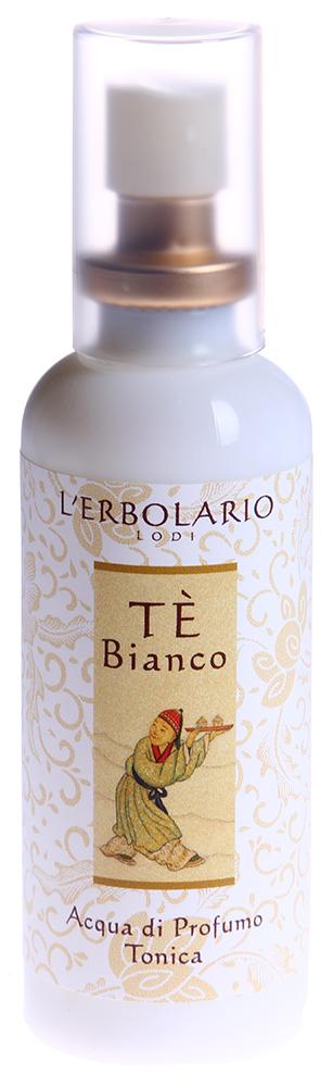 LERBOLARIO Вода парфюмированная Белый чай 50 млПарфюмерия<br>Парфюмированная вода Белый чай с легким ненавязчивым запахом подарит нежный, ни с чем не сравнимый аромат белого чая. Белый чай - самый редкий и ценный вид чая, полный лёгкого очарования и привлекательности.<br>