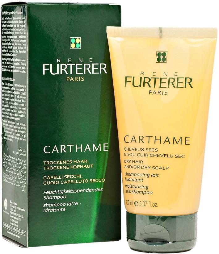 RENE FURTERER Шампунь-молочко увлажняющий для сухих волос / Carthame 150мл