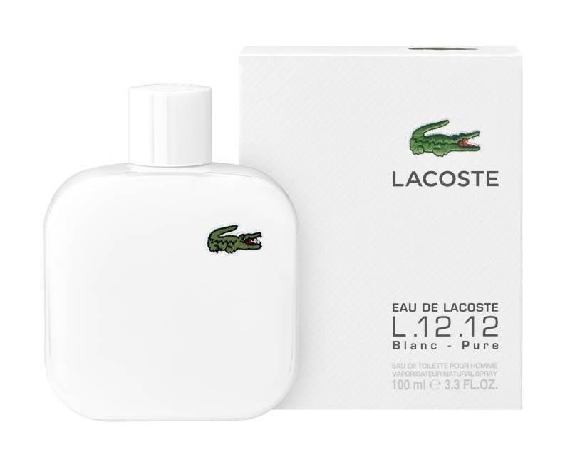 Купить LACOSTE Вода туалетная мужская Lacoste Eau De Lacoste L.12.12 blanc 100 мл