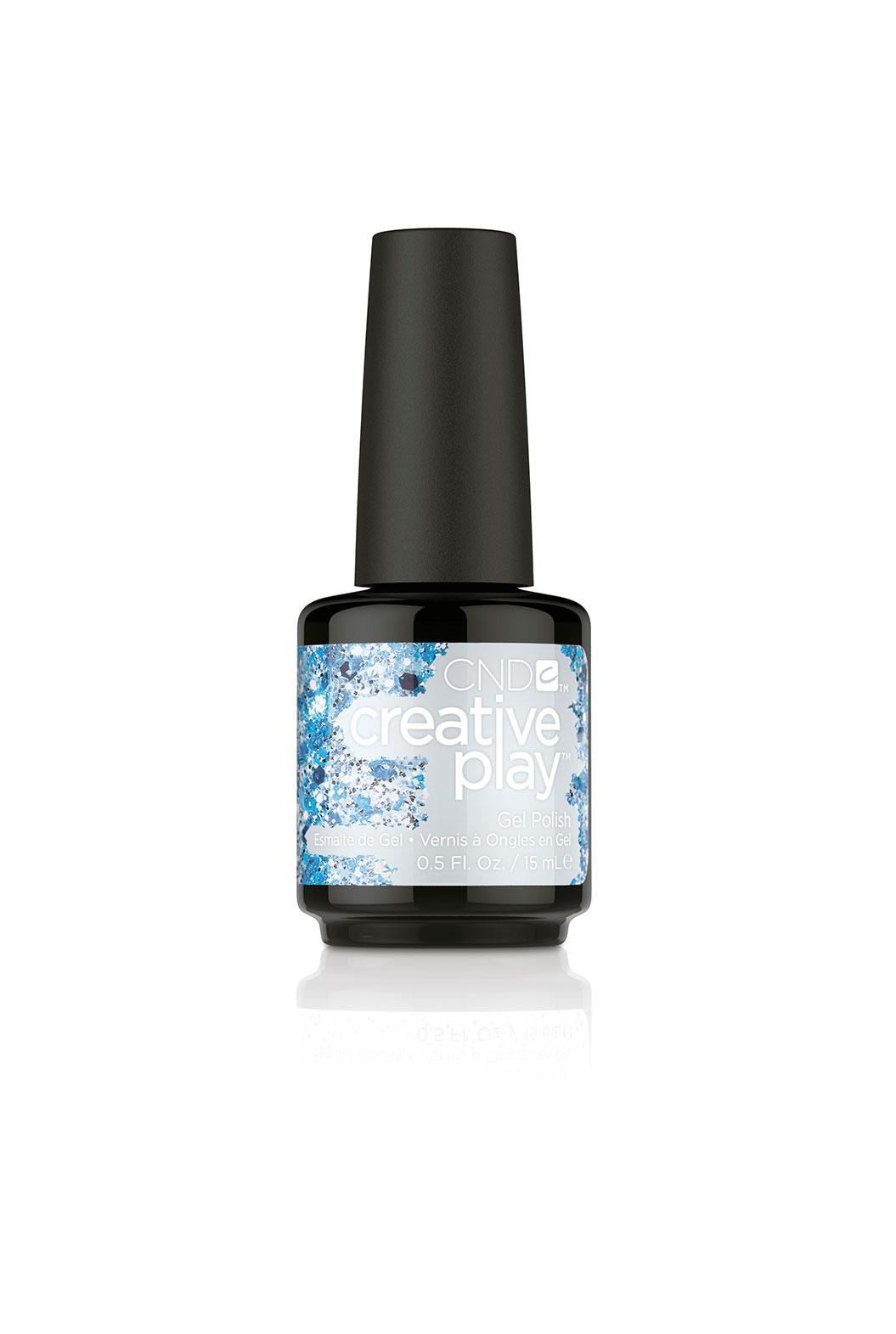CND 459 гель-лак для ногтей / Kiss Teal Creative Play Gel 15 мл лак для ногтей cnd creative play 459 цвет 459 kiss teal variant hex name 60a8b6