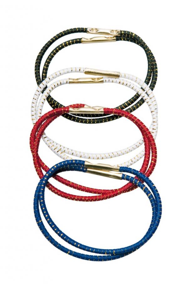 TITANIA Резинка для волос, цветная 40 мм 8 шт/уп 8013.B