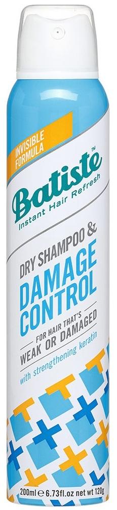 BATISTE Шампунь сухой для слабых или поврежденных волос / HAIR BENEFITS DAMAGE CONTROL 200 мл