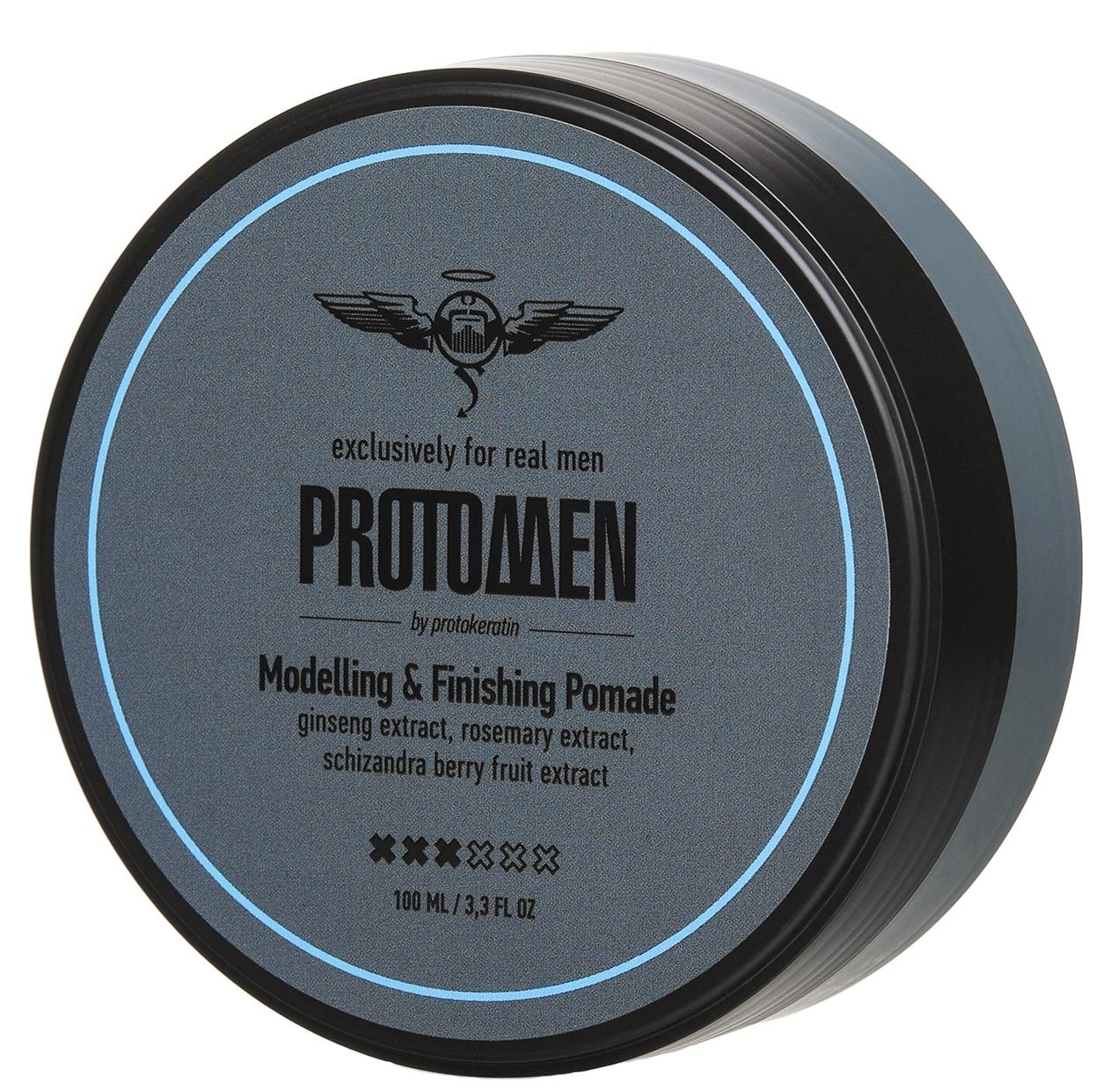 Купить PROTOKERATIN Помада для моделирования и контроля средней фиксации, для мужчин / ProtoMEN 100 мл