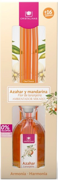 Cristalinas диффузор ароматический цветущий апельсин и мандарин / mikado 180 мл