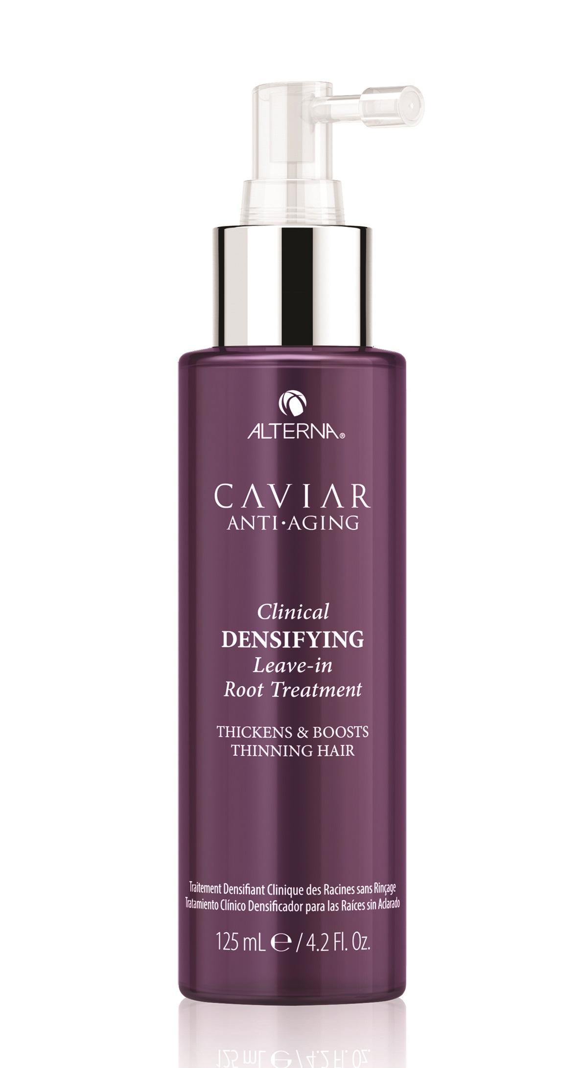 ALTERNA Спрей несмываемый для уплотнения и роста волос с экстрактом красного клевера / Caviar Anti-Aging Clinical Densifying Leave-in Root Treatment 125 мл фото