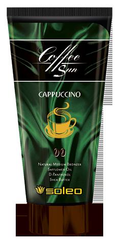 Купить SOLEO Бронзатор интенсивный натуральный с запахом кофе с молоком / Coffe Sun Cappuccino 150 мл