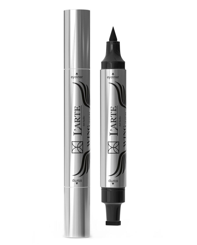 Купить LARTE DEL BELLO Подводка-маркер для век со штампом, чёрная / WING LINER 3, 8 г