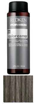REDKEN Краска-камуфляж для волос Dark Natural / COLOR CAMO FOR MEN 60млКраски<br>Оттенок: Темный натуральный. Краска-камуфляж придаст вашим волосам естественный стойкий цвет без видимого подъема уровня тона при любом уровне седины. Обеспечит волосам глубокий уход, наполнив их силой, здоровьем и сияющим блеском. Color Camo   инновационная разработка специалистов американской компании Redken, созданная для того, чтобы помочь мужчинам скрыть так не вовремя появившуюся седину. Основанная на эксклюзивной технологии невероятно стойкого окрашивания волос, краска-камуфляж оказывает интенсивное воздействие на поседевшие пряди, придавая вашим волосам натуральный однородный цвет и наполняя их жизненной силой и здоровым сияющим блеском. Для мужчин с 50 и менее процентами седины. Не содержит аммиака. Способ применения: Приготовление, нанесение средства и воздействие: Смешайте краску камуфляж седины с Про Оксидом 3% в пропорции 1:1. Нанесение состава следует начинать с участков наиболее интенсивной седины у большинства мужчин это виски, макушка или линия роста волос. Нанесение краску на сухие или подсушенные полотенцем волосы. Сделайте 2-4 пробора и быстро нанесите краску над раковиной для мытья головы. При короткой стрижке процесс нанесения занимает всего 2-3 минуты. Избегайте прямого попадания краски на кожу. Время выдержки при комнатной температуре 5 минут для получения эффекта соль-перец и 10 минут для более полного покрытия седины для темных оттенков время выдержки только 10 минут. Промойте волосы шампунем гаммы For Men.<br><br>Цвет: Бежевый и коричневый<br>Вид средства для волос: Стойкая<br>Пол: Мужской
