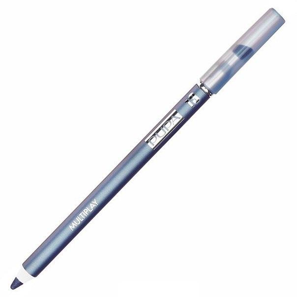 PUPA Карандаш для век с аппликатором 13 Multiplay Eye Pencil, штКарандаши<br>Цвет - Небесно-голубой. Контурный карандаш для глаз тройного действия с аппликатором для растушёвки Multiplay подчёркивает взгляд с помощью интенсивного и однородного цвета, которой обладает безупречной стойкостью. Мягкая и очень пластичная текстура обеспечивает лёгкое и быстрое нанесение. Карандаш сочетает в себе 3 функции: ПОДВОДКА ДЛЯ ГЛАЗ: позволяет очертить контур глаз и добиться безупречной линии.&amp;nbsp; КАЙАЛ: преображает взгляд с помощью насыщенной линии.&amp;nbsp; МЯГКИЕ ТЕНИ ДЛЯ ВЕК: помогает подчеркнуть глаза, придавая эффект размытости.<br>