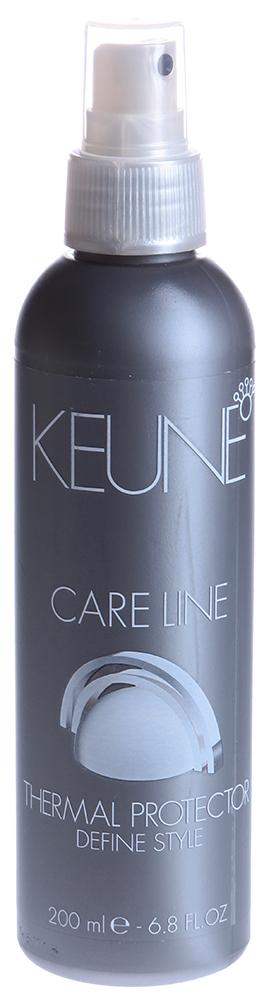 KEUNE Лосьон для укладки феном Кэе Лайн / CL THERMAL PROTECTOR 200мл keune кондиционер спрей 2 фазный для кудрявых волос кэе лайн cl control 2 phase spray 400мл
