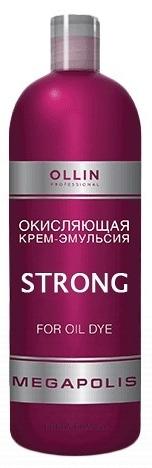 OLLIN PROFESSIONAL Крем-эмульсия окисляющая / Strong MEGAPOLIS 500 мл