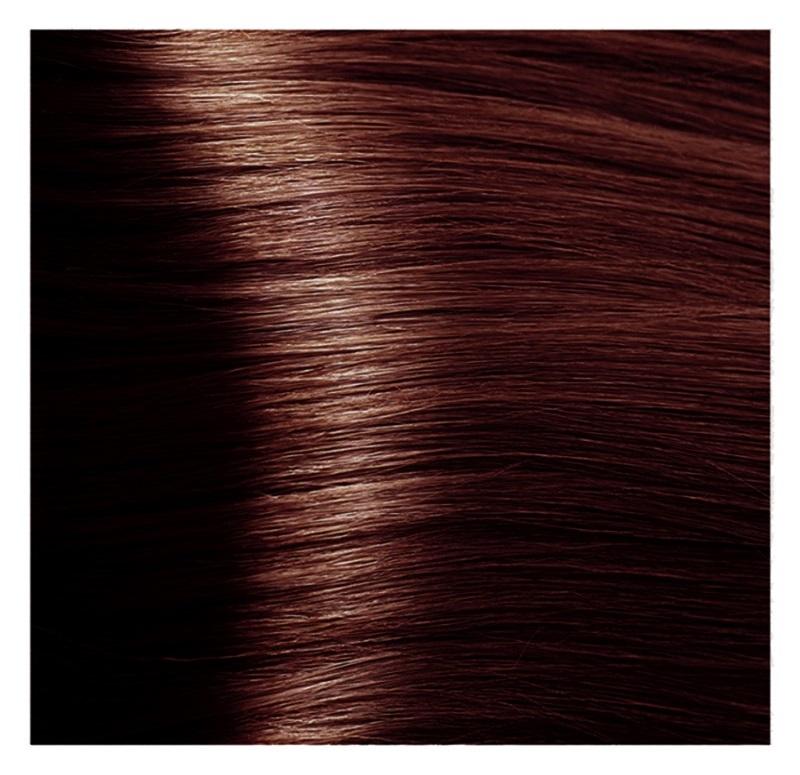 KAPOUS HY 5.43 краска для волос, светлый коричневый медный золотистый / Hyaluronic Acid 100 мл