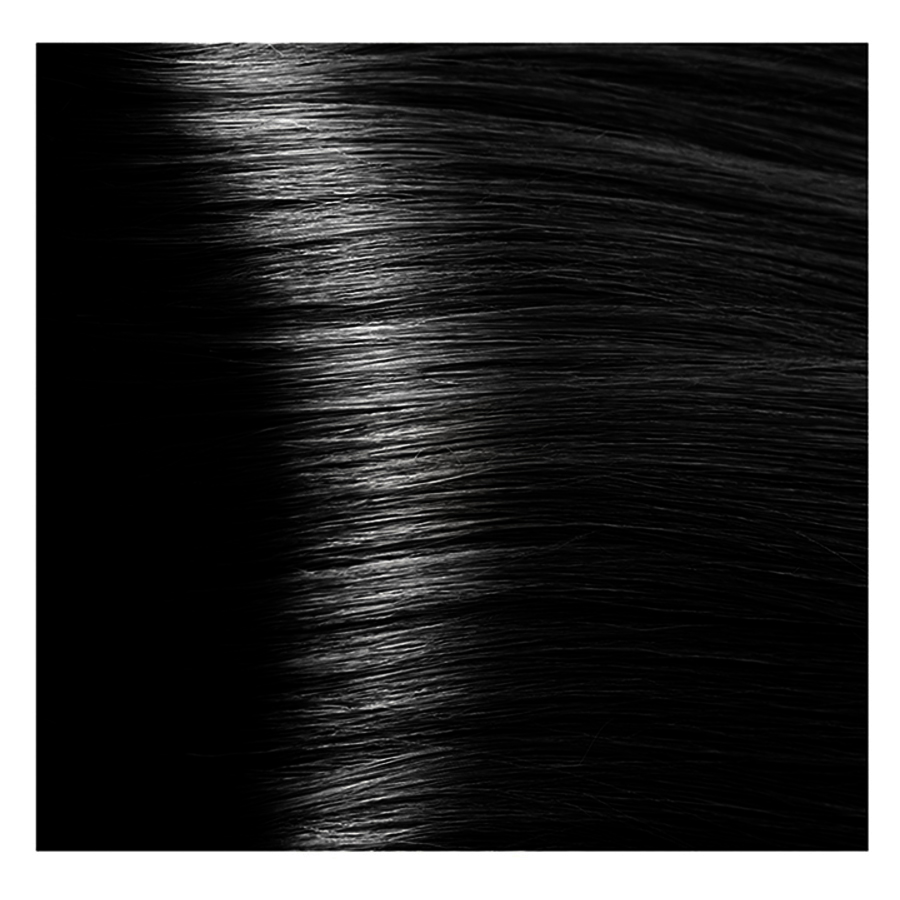 KAPOUS 1.00 крем-краска для волос / Hyaluronic acid 100 мл