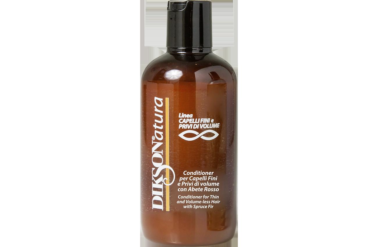 DIKSON Кондиционер с экстрактом красной ели для тонких волос, лишённых объёма / CONDITIONER WITH RED SPRUCE