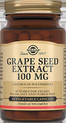 SOLGAR Экстракт виноградных косточек, капсулы № 30
