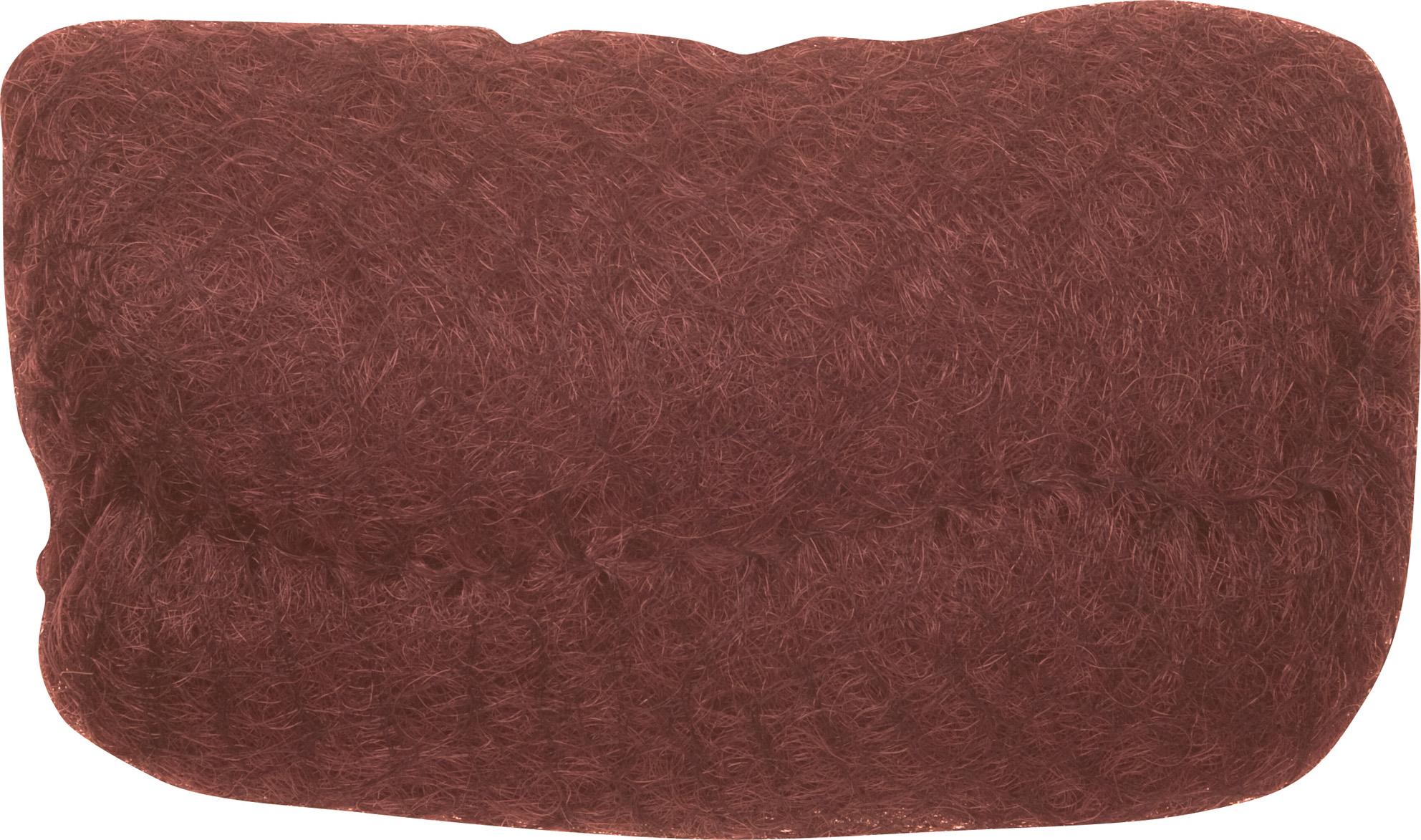 Купить DEWAL PROFESSIONAL Валик для прически, искусственный волос + сетка, рыжий 18*11 см