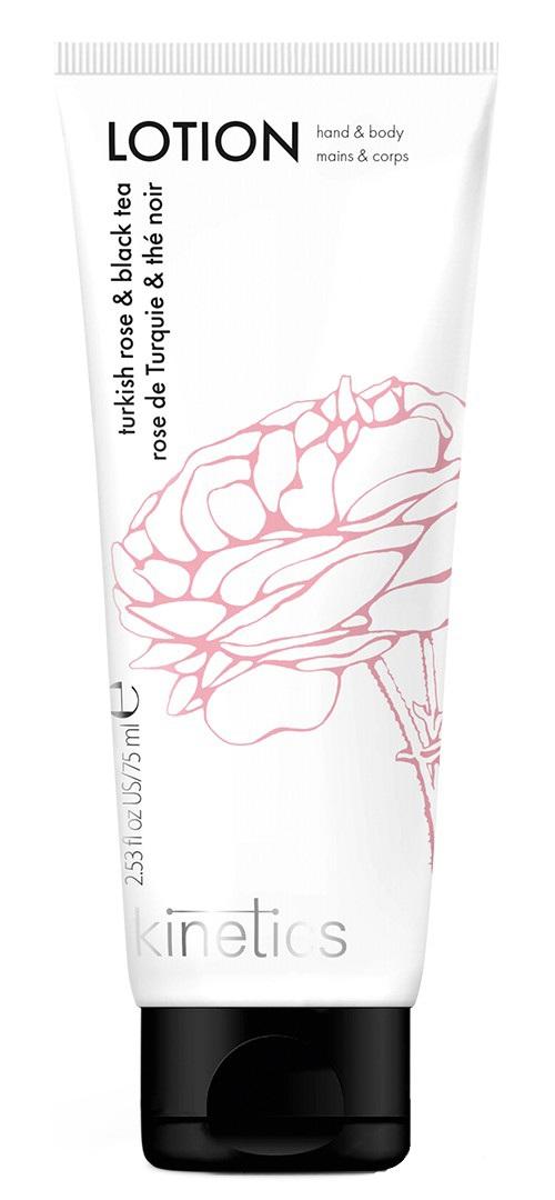 KINETICS Лосьон для рук и тела Турецкая роза и черный чай 75 мл фото