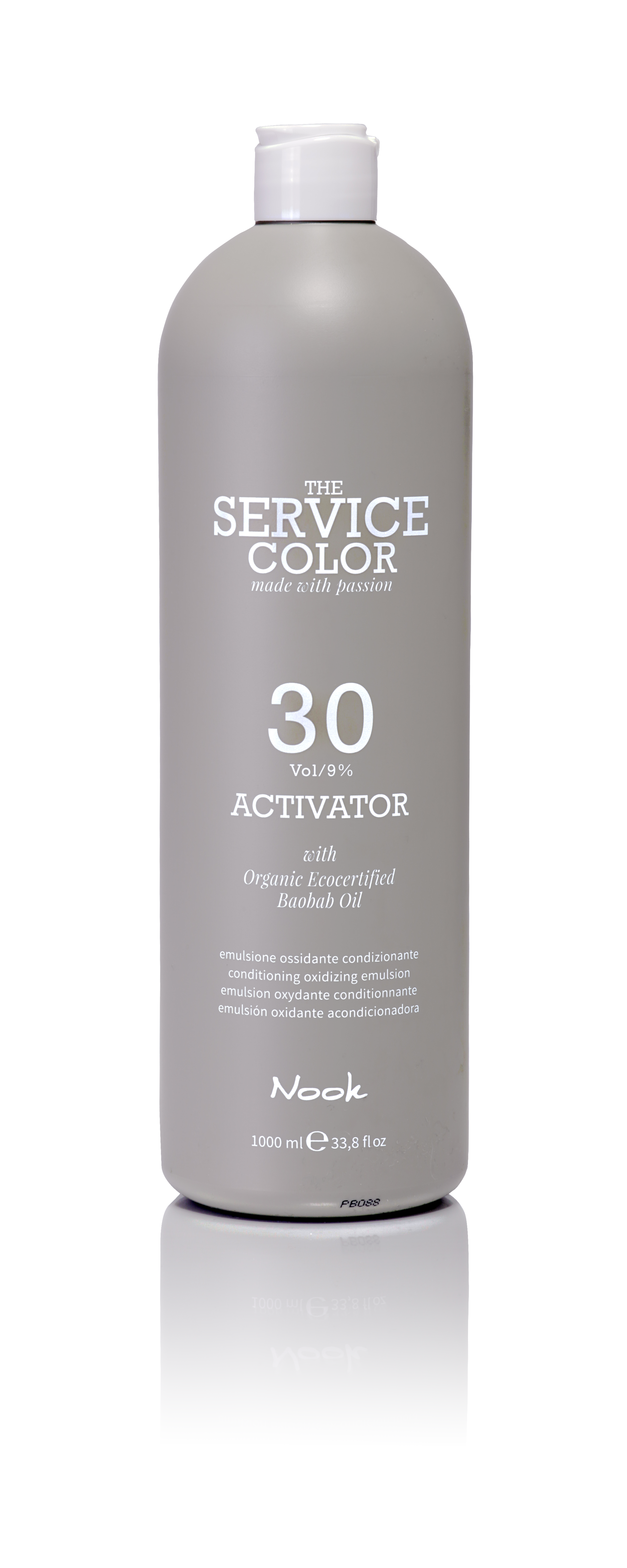 NOOK Активатор 9% (30vol) / ACTIVATOR THE SERVICE COLOR 1000мл the complete voodoo vol 3