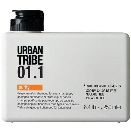 URBAN TRIBE Шампунь очищающий для всех типов волос 01.1 / Shampoo Purity 250мл