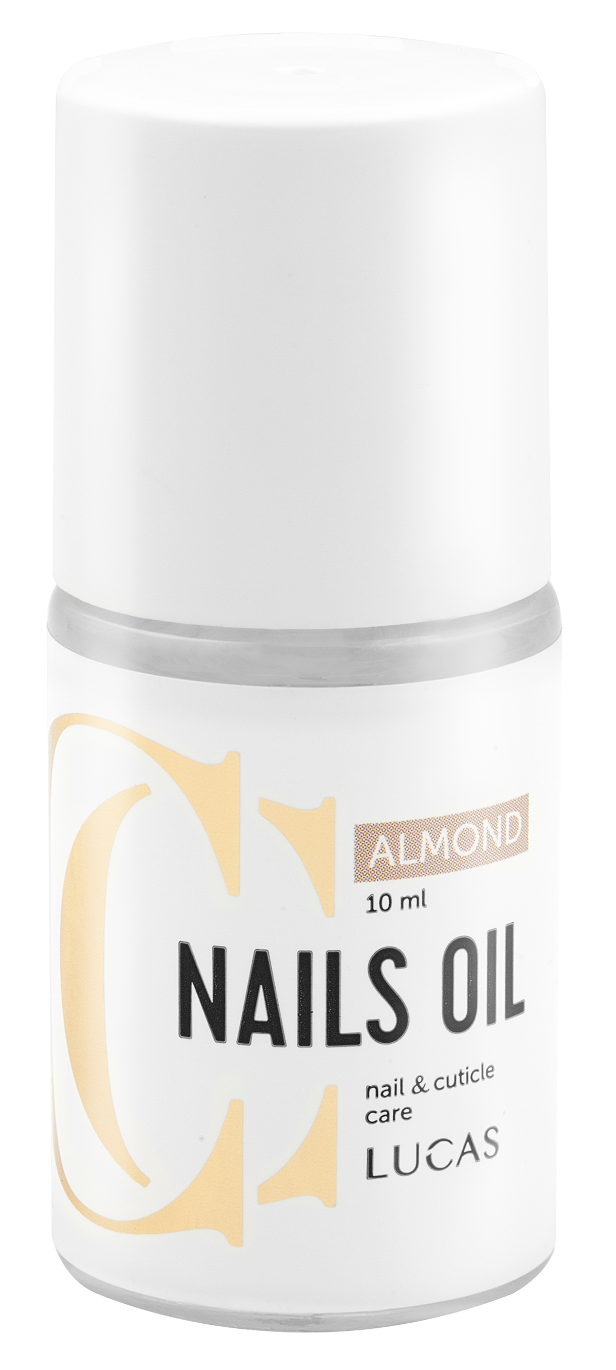Купить LUCAS' COSMETICS Масло для ногтей и кутикулы, миндаль / CC Nails Oil Almond 10 мл