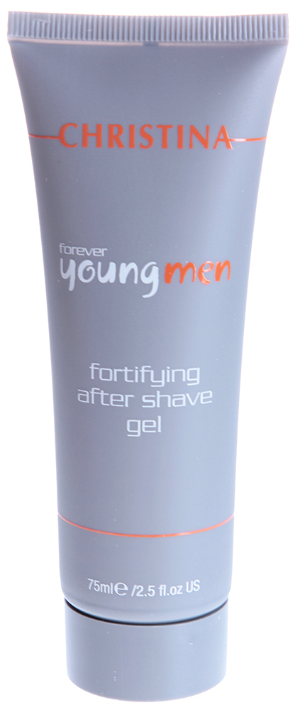 CHRISTINA Гель укрепляющий после бритья / Fortifying After Shave Gel FOREVER YOUNG 75 мл гель christina гель после бритья forever young fortifying after shave объем 75 мл