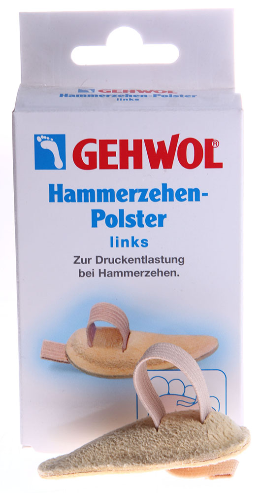 GEHWOL Подушка под пальцы ног  0, левая 1шт