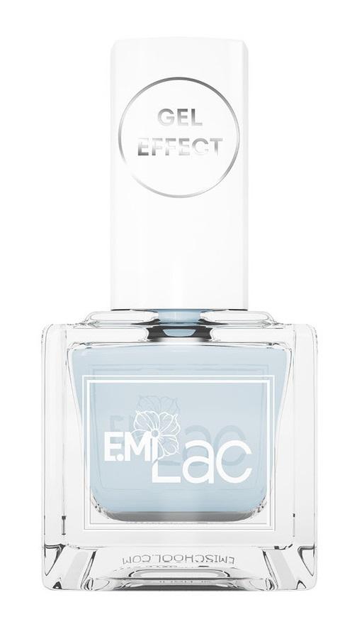 Купить E.MI 058 лак ультрастойкий для ногтей, Аквамарин / Gel Effect 9 мл, Синие