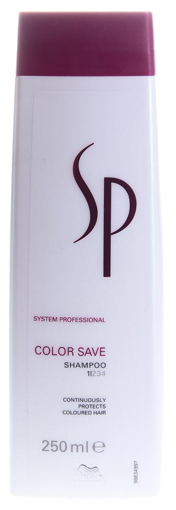 Купить WELLA SP Шампунь для защиты цвета окрашенных волос / SP Color save shampoo 250 мл