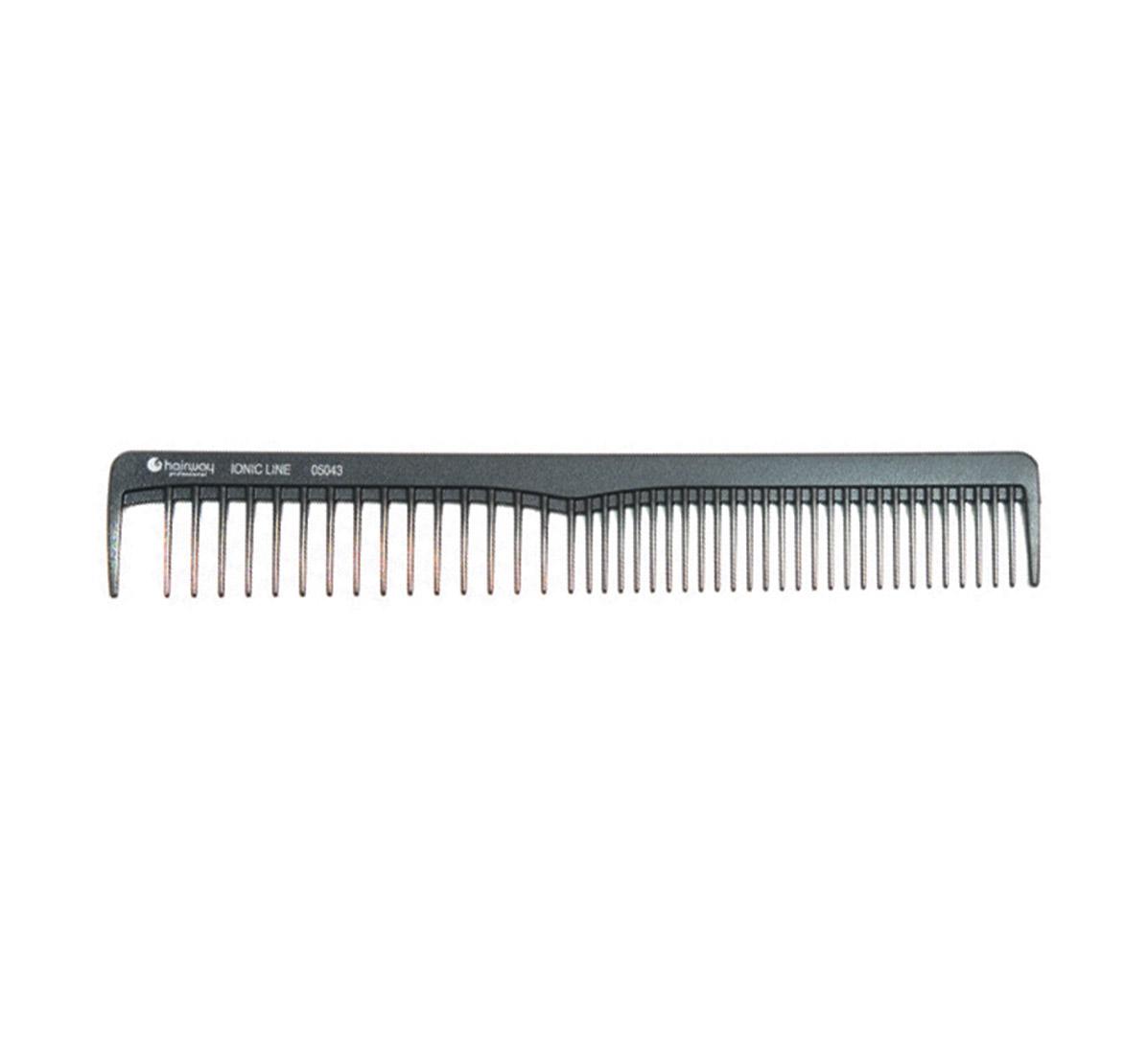 HAIRWAY Расческа Hairway Ionic Line комбинированная 171мм