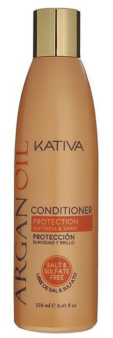 Купить KATIVA Кондиционер увлажняющий с маслом арганы для волос / ARGANA 250 мл