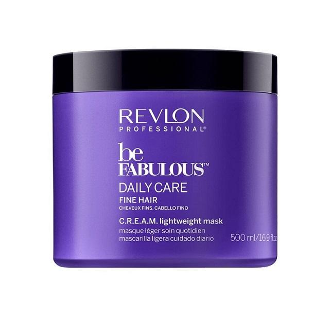 REVLON Professional Маска для тонких волос Ежедневный уход / RP BE FABULOUS 500 мл -  Маски