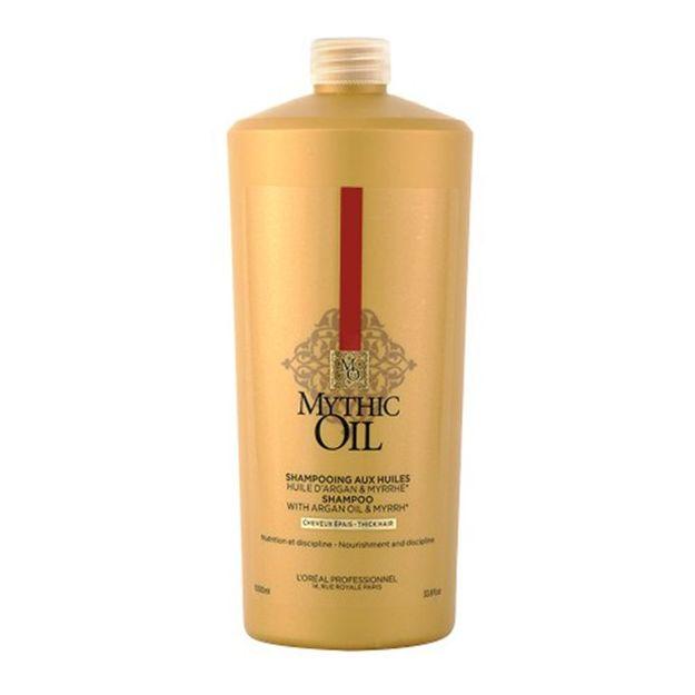 LOREAL PROFESSIONNEL Шампунь для плотных волос / МИТИК ОЙЛ 1000мл loreal professionnel шампунь для очень поврежденных волос абсолют репэр липидиум 1500мл